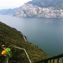 Hiking Lago di Garda
